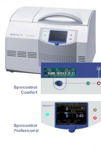 High Speed lab centrifuge